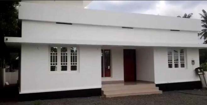 Best Extremely Low Budget 3 Bedroom Home Design In 753 Sqft With Pictures
