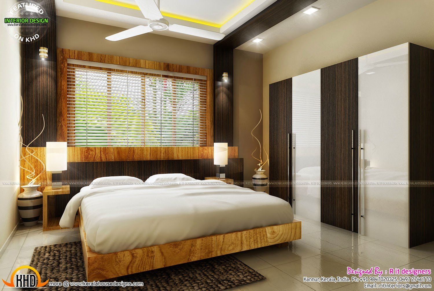 Best Bedroom Interior Design With Cost Kerala Home Design And With Pictures