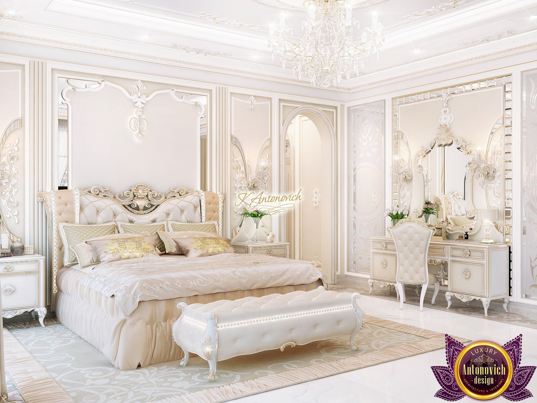 Best Master Bedroom Design In Classic Style With Pictures