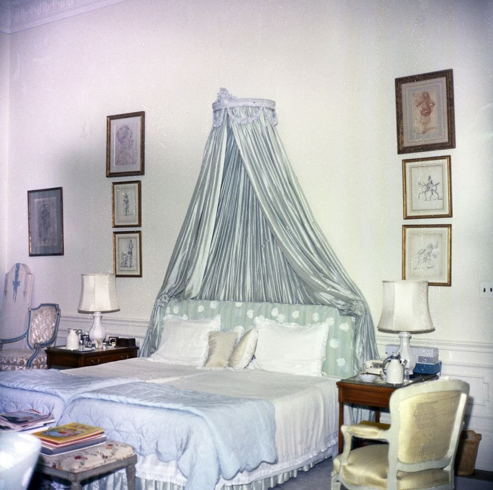 Best White House Rooms First Lady Jacqueline Kennedy S Bedroom With Pictures