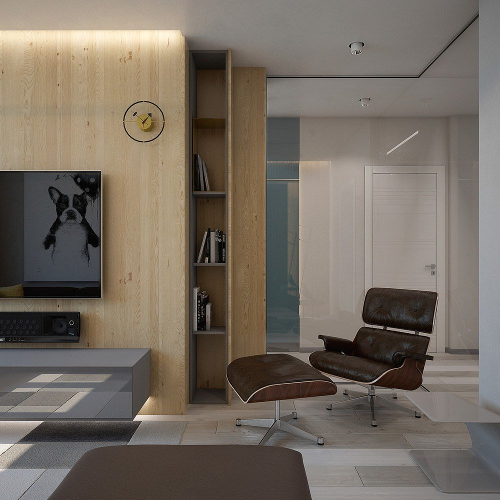 Best 2 Minimalist Apartment Design Ideas With Beautiful Blue With Pictures