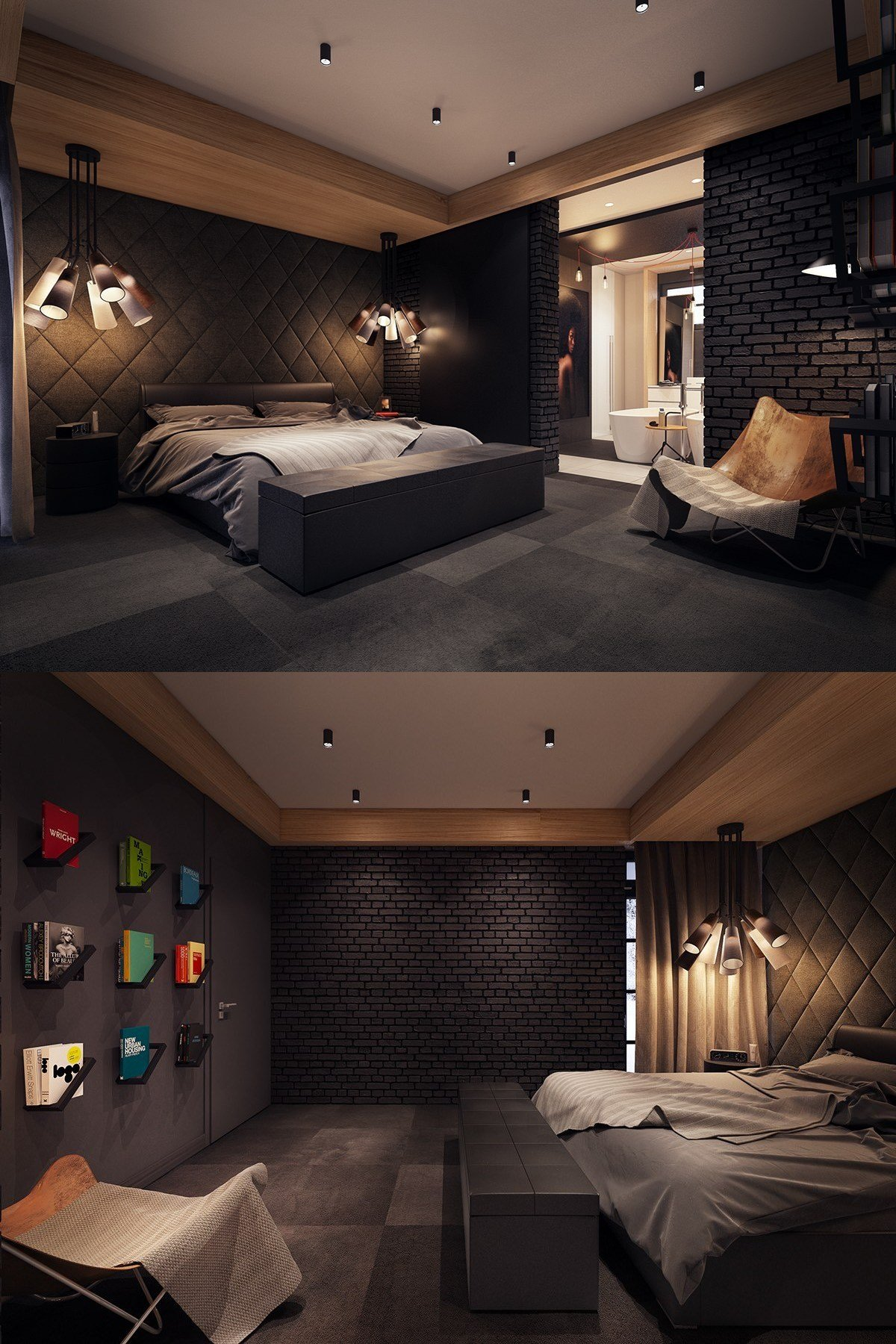 Best Dark Color Bedroom Decorating Ideas Shows A Luxury And With Pictures