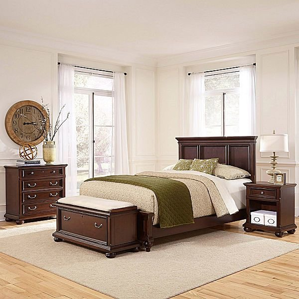 Best Jcpenney Roanoke Bed Nightstand Chest And Bench With Pictures