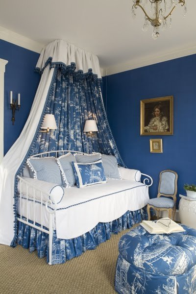 Best The Glam Pad Beautiful Blue And White Bedrooms With Pictures