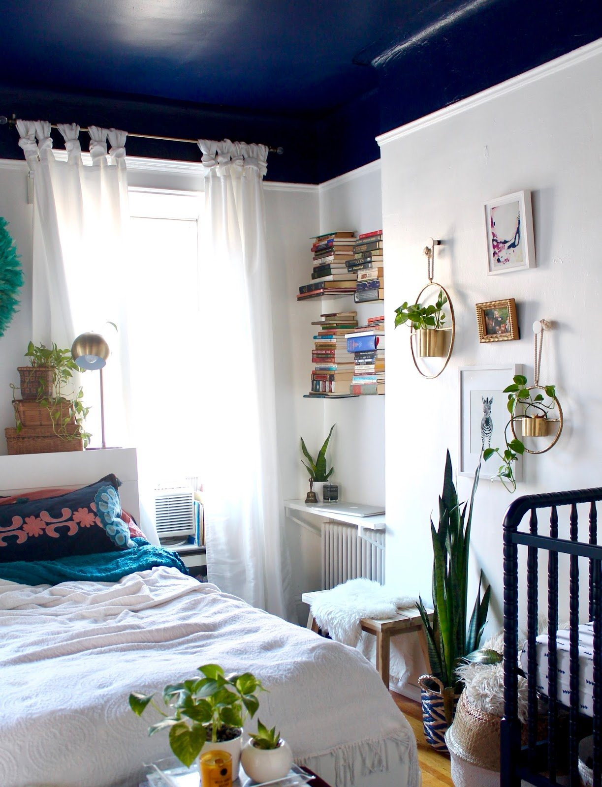 Best Boho Shared Master Bedroom X Nursery Tfdiaries By Megan With Pictures