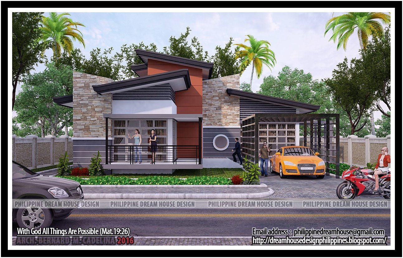 Best Philippine Dream House Design Four Bedrooms Bungalow With Pictures