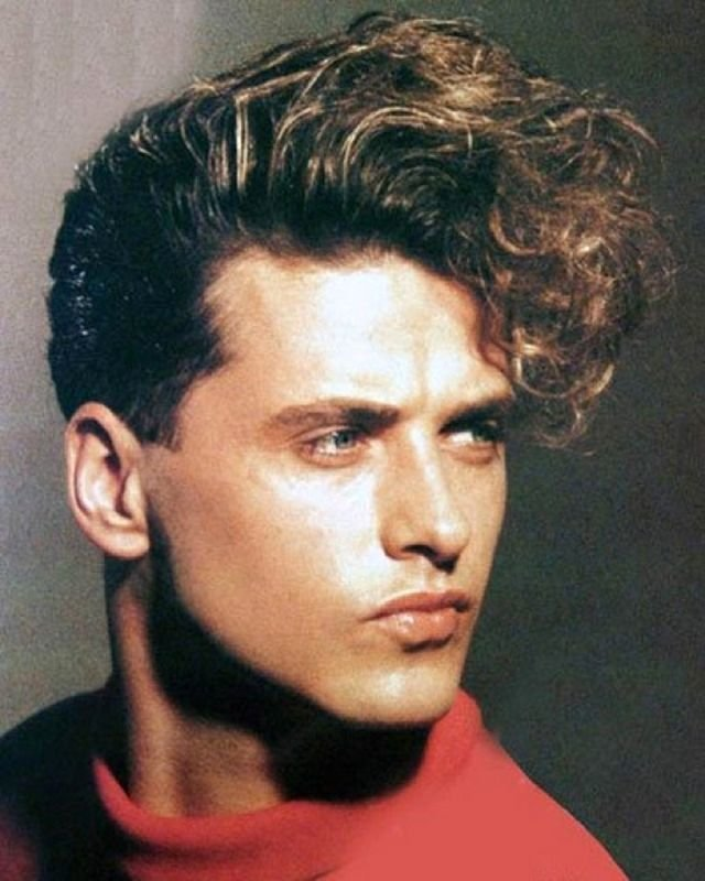 Free 20 Coolest Men S Hairstyles In The 1980S Vintage Everyday Wallpaper