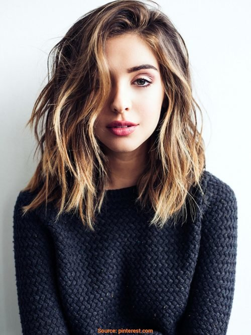Free 114 Top Shoulder Length Hair Ideas To Try Updated For 2019 Wallpaper