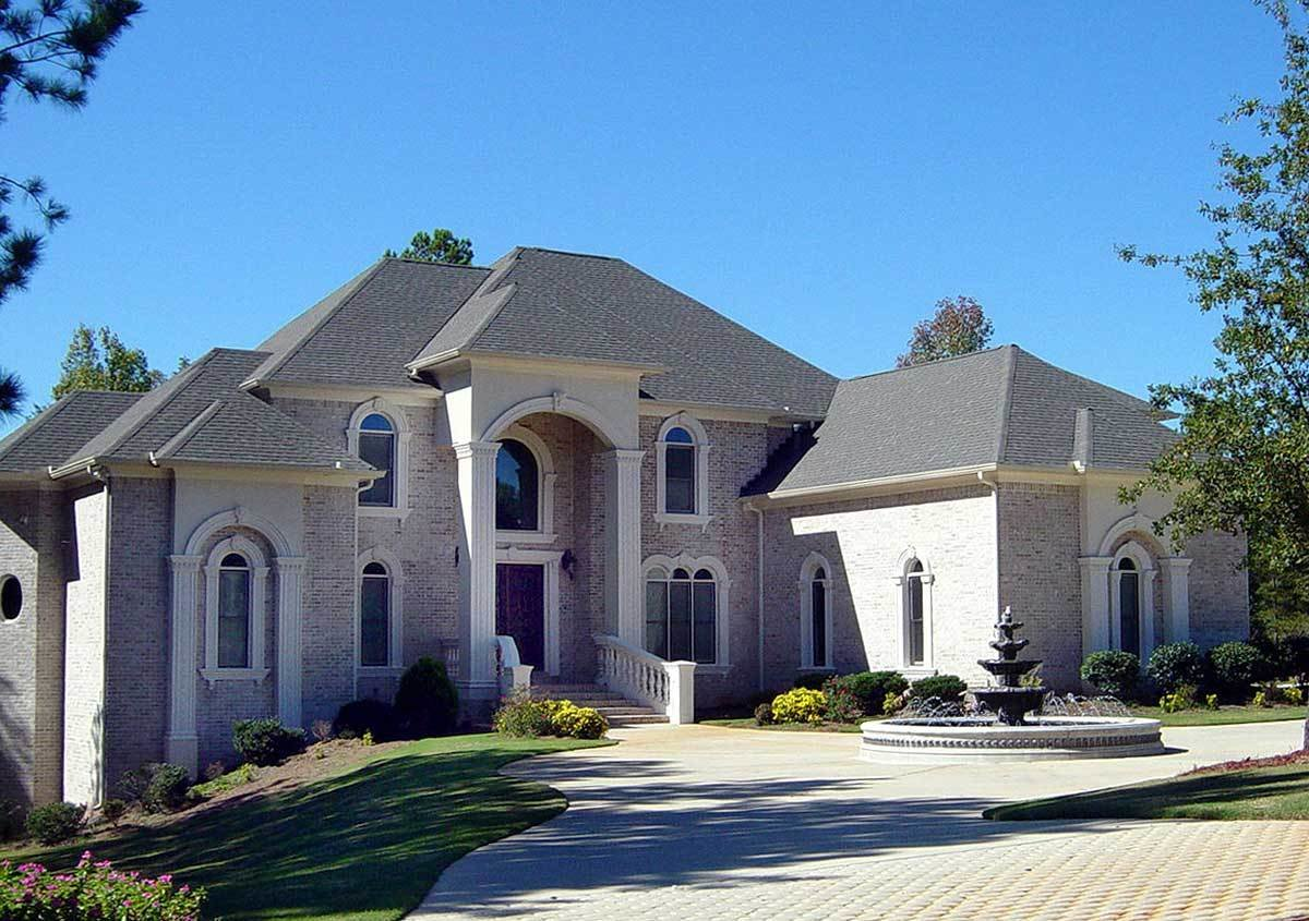 Best Luxury 5 Bedroom House Plan 13438By Architectural With Pictures