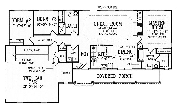 Best Split Bedroom Ranch Is Fully Accessible 3863Ja 1St With Pictures