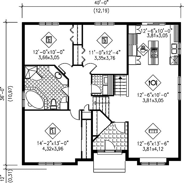 Best Attractive 3 Bedroom Split Level 80019Pm Architectural With Pictures