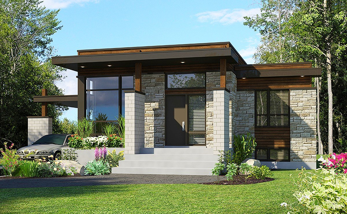 Best Compact Modern House Plan 90262Pd Architectural With Pictures