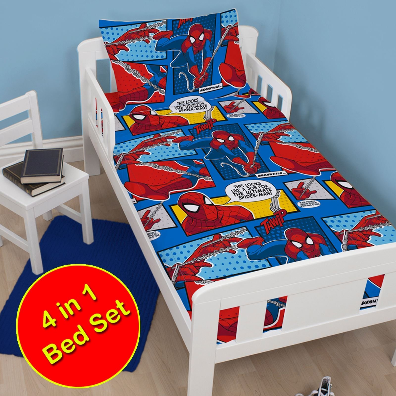 Best Marvel Spiderman Duvet Cover Sets Kids Boys Bedding With Pictures