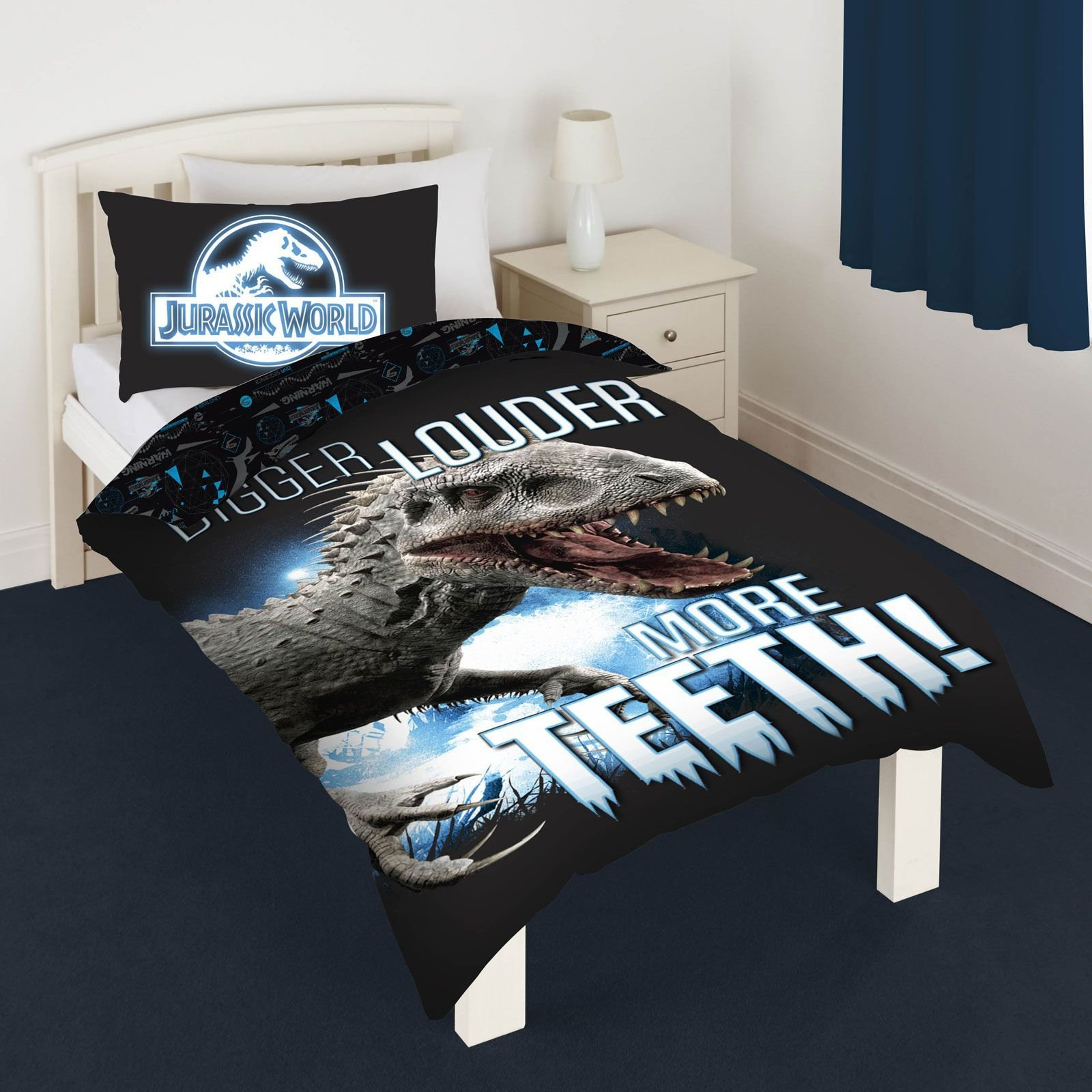Best Dinosaur T Rex Jurassic Duvet Cover Sets Kids Bedding With Pictures