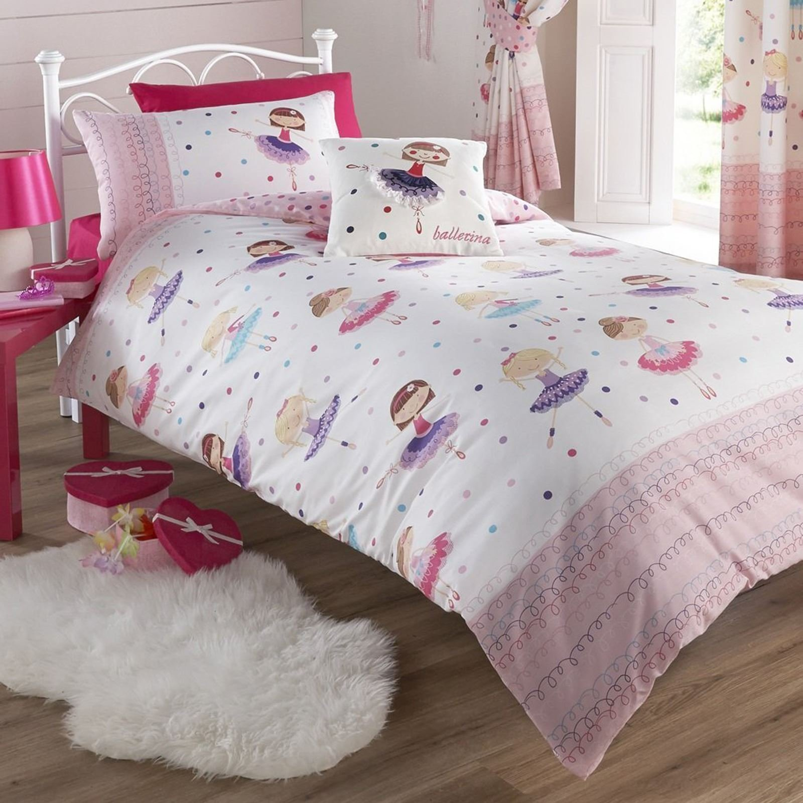 Best Ballerina Design Duvet Cover Sets In Various Sizes Girls With Pictures