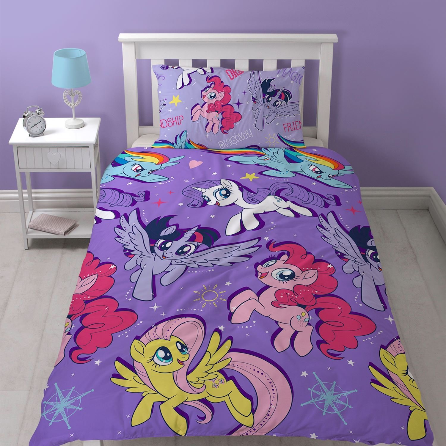Best My Little Pony Single Junior Duvet Cover Sets Girls With Pictures