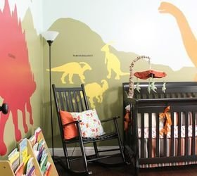 Best Diy Dinosaur Themed Nursery Hometalk With Pictures