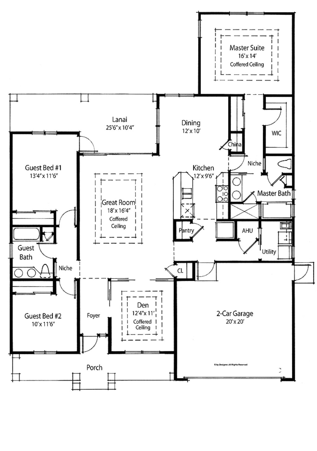 Best Country Style House Plan 3 Beds 2 Baths 1910 Sq Ft Plan With Pictures
