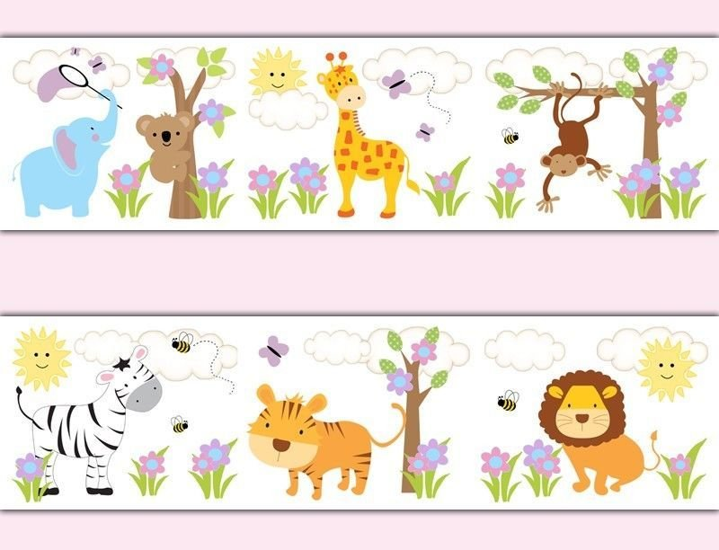 Best Wallpaper For Baby Girl Nursery Wallpapersafari With Pictures