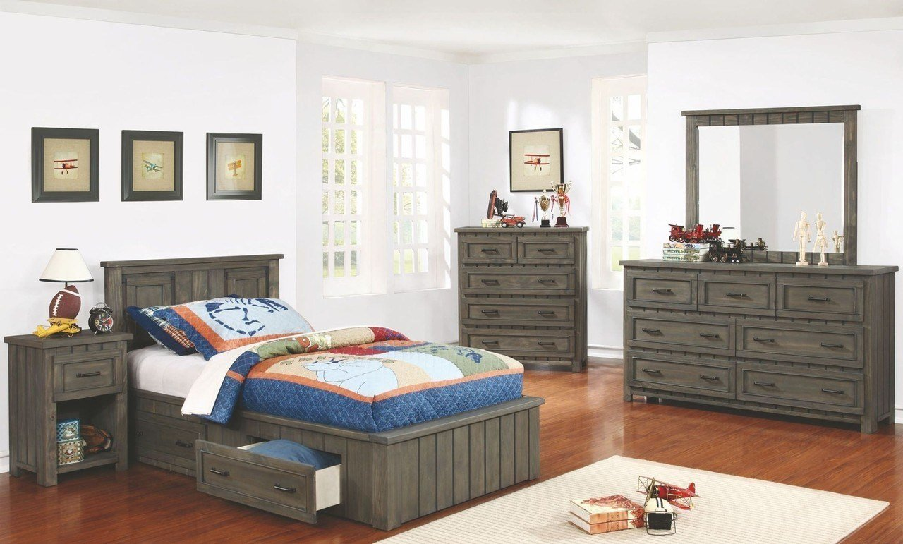 Best Napoleon Full Size Platform Bedroom Set With Storage 400931F Savvy Discount Furniture With Pictures
