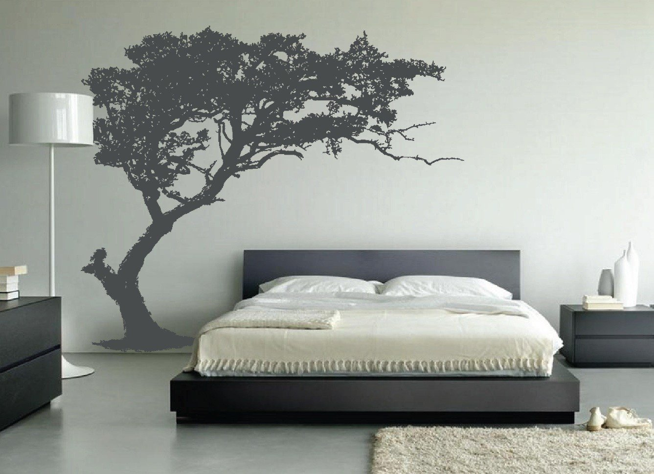 Best Large Wall Tree Decal Forest Decor Vinyl Sticker Highly With Pictures