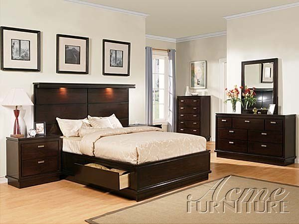 Best Acme Furniture Acme 04604Ack Nashville Walnut Storage With With Pictures