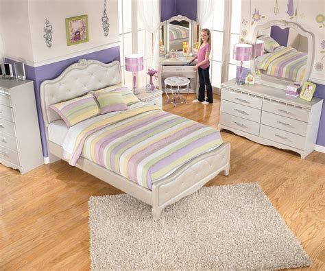 Best Zarollina B182 Full Size Upholstered Bed Girl S Bedroom With Pictures