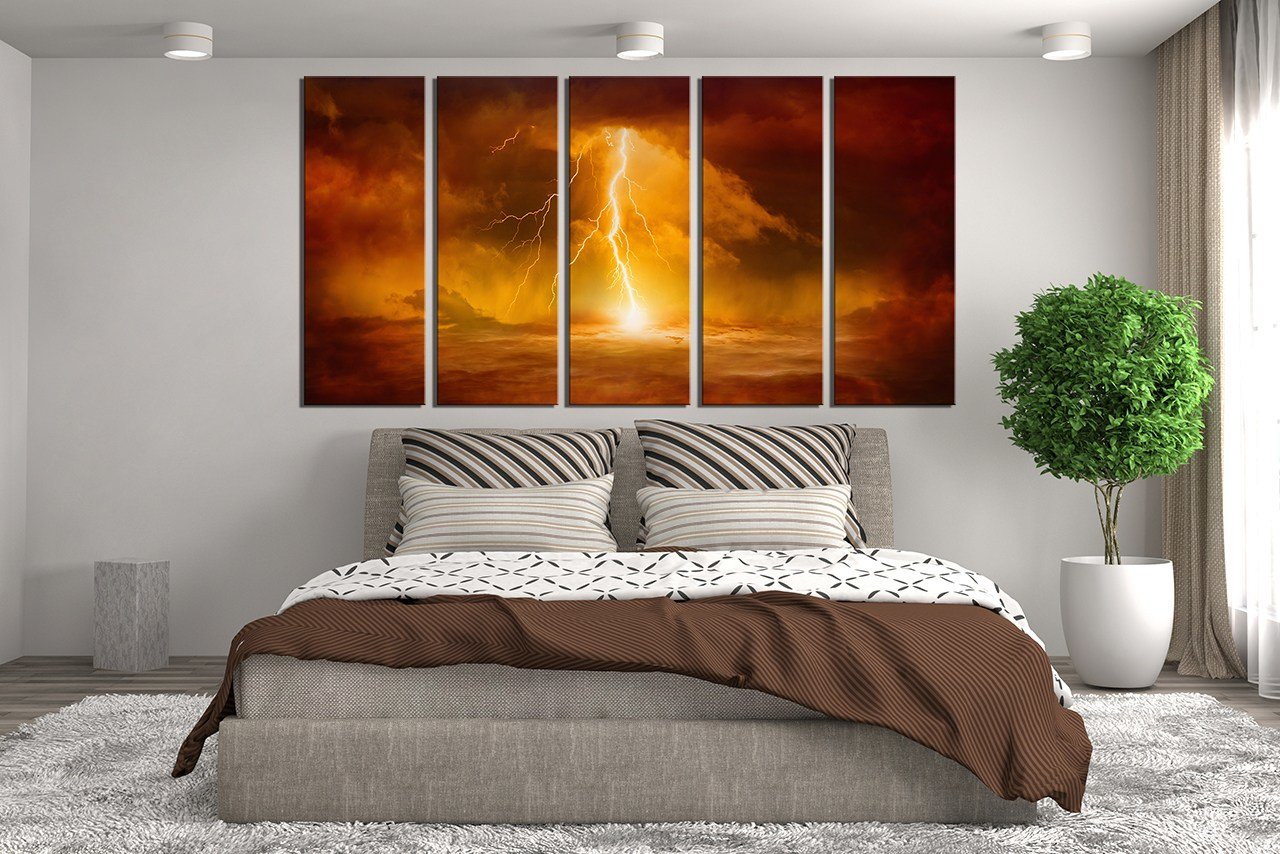 Best 5 Piece Huge Canvas Print Abstract Canvas Art Prints With Pictures