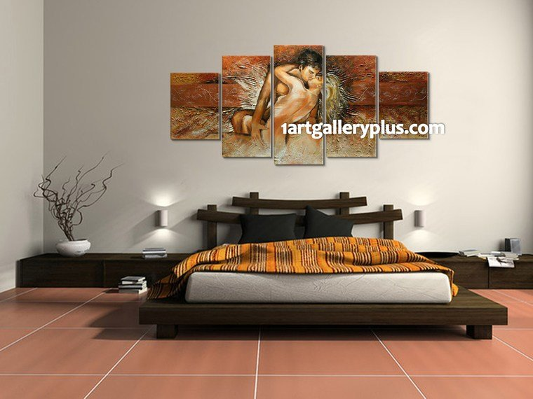 Best 5 Piece Canvas Wall Art Abstract Sensual Artwork Oil With Pictures