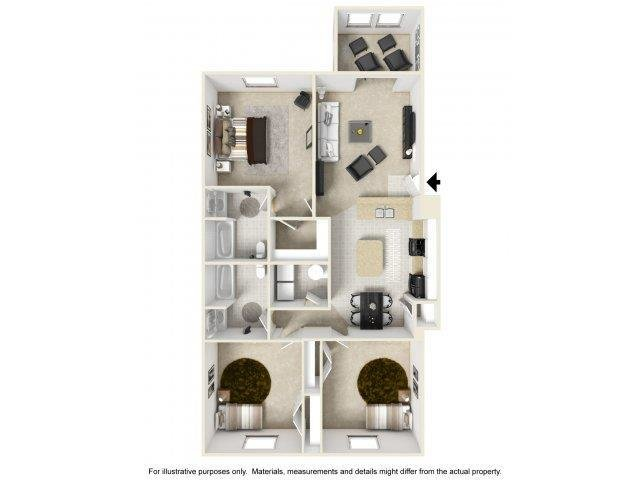 Best 1 2 3 Bedroom Apartments In Summerville Cobblestone With Pictures