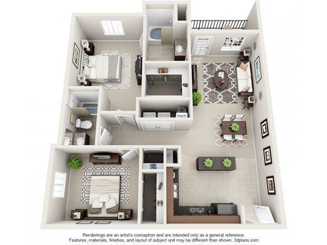 Best 1 2 3 Bedroom Apartments In Greensboro Innisbrook With Pictures