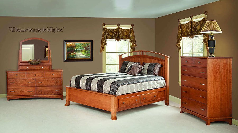 Best The Amish Home Furniture Gallery Crescent Bedroom Furniture With Pictures