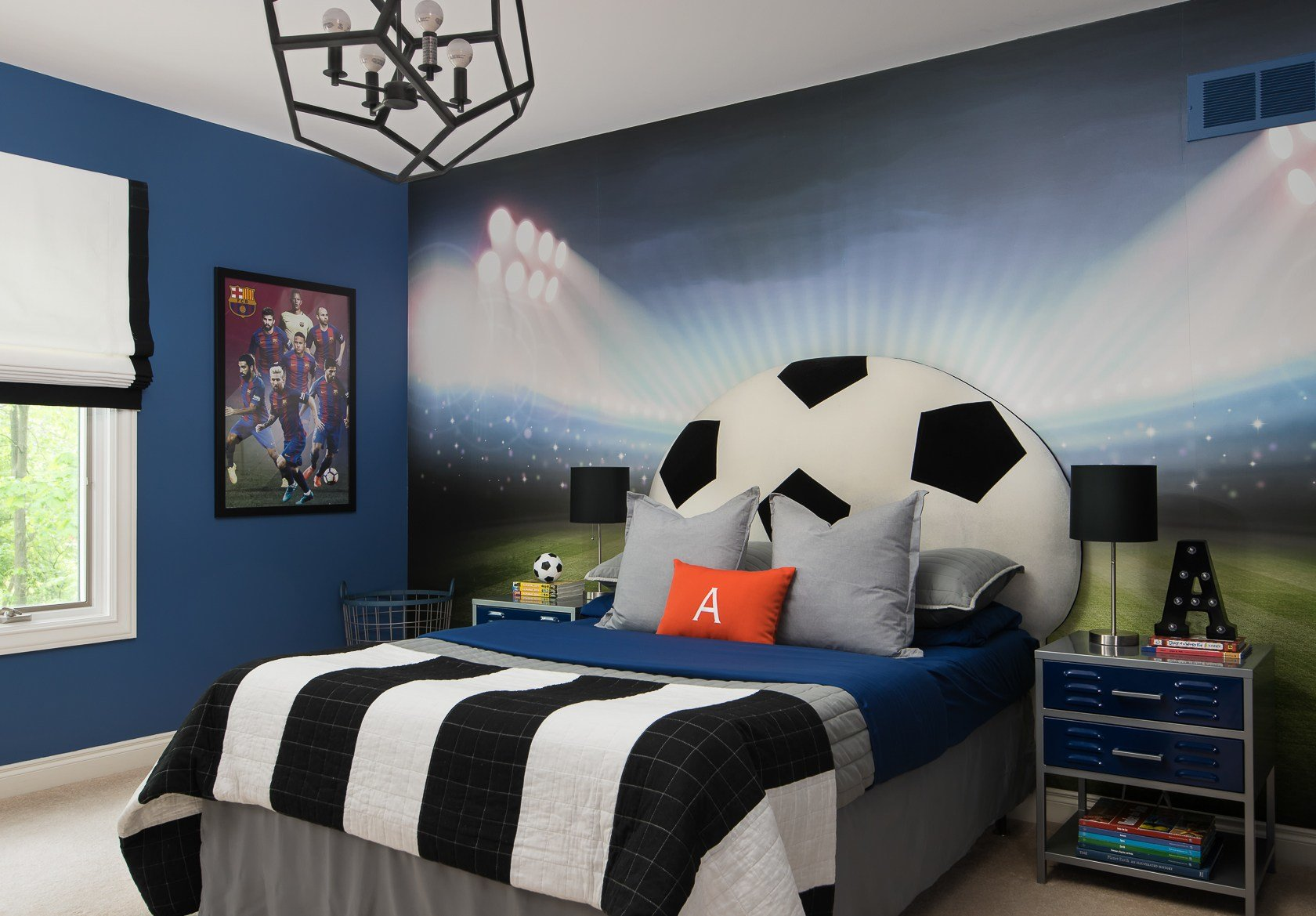Best Soccer Themed Bedroom — Decor For Kids With Pictures