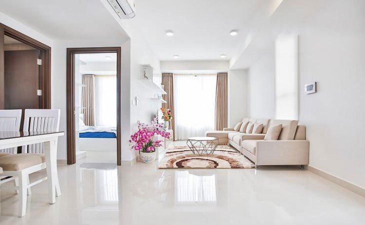Best Nice Looking 1 Bedroom Apartment For Rent In The Tresor On Ben Van Don Street Saigonflat Com With Pictures