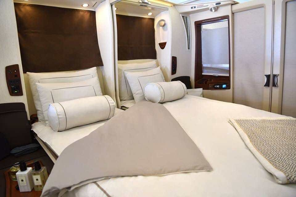 Best A Chance To Fly First Class Suite On Hifly S A380 From With Pictures