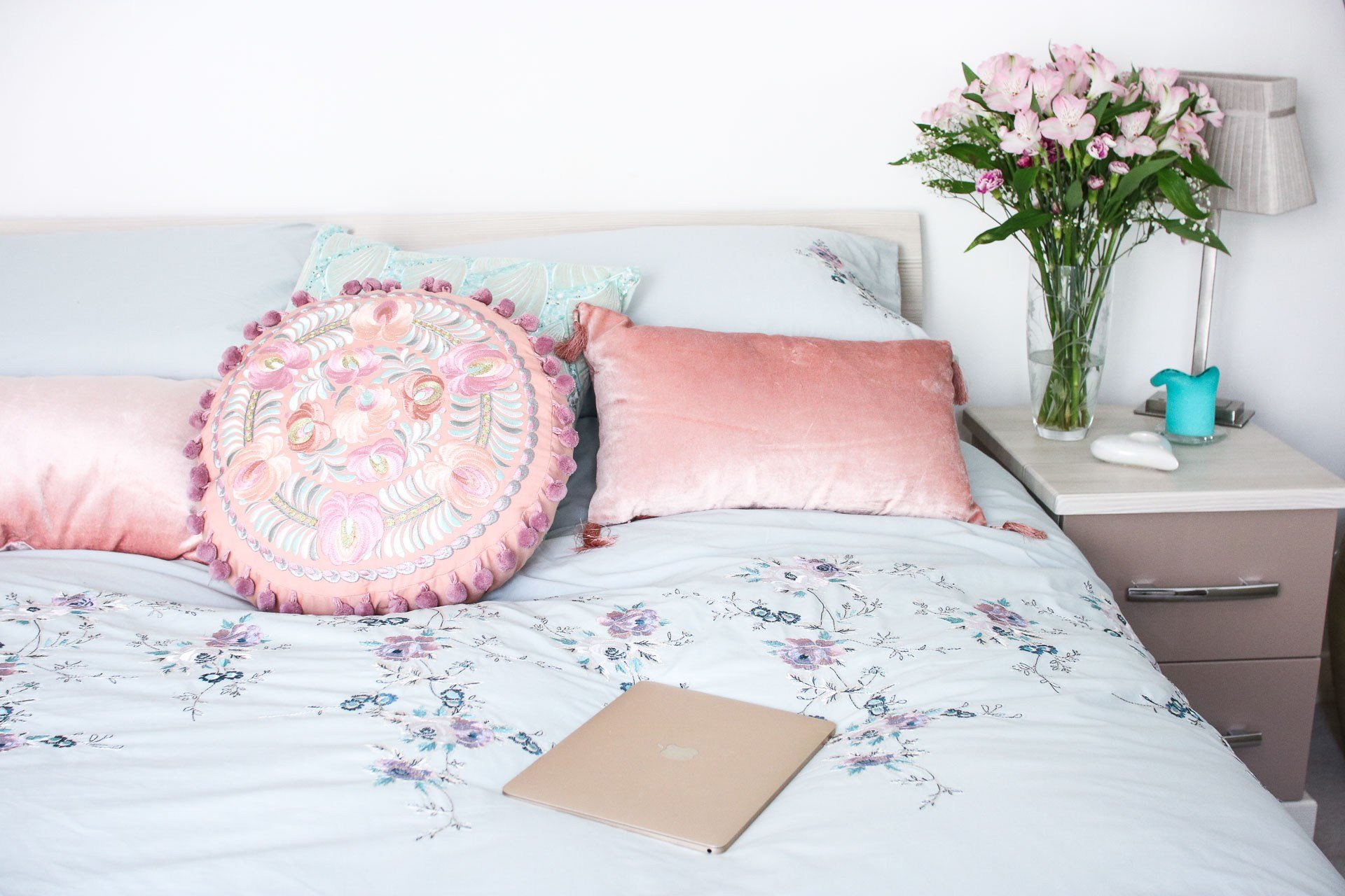 Best A Girly Bedroom Update Sartorial Scot With Pictures