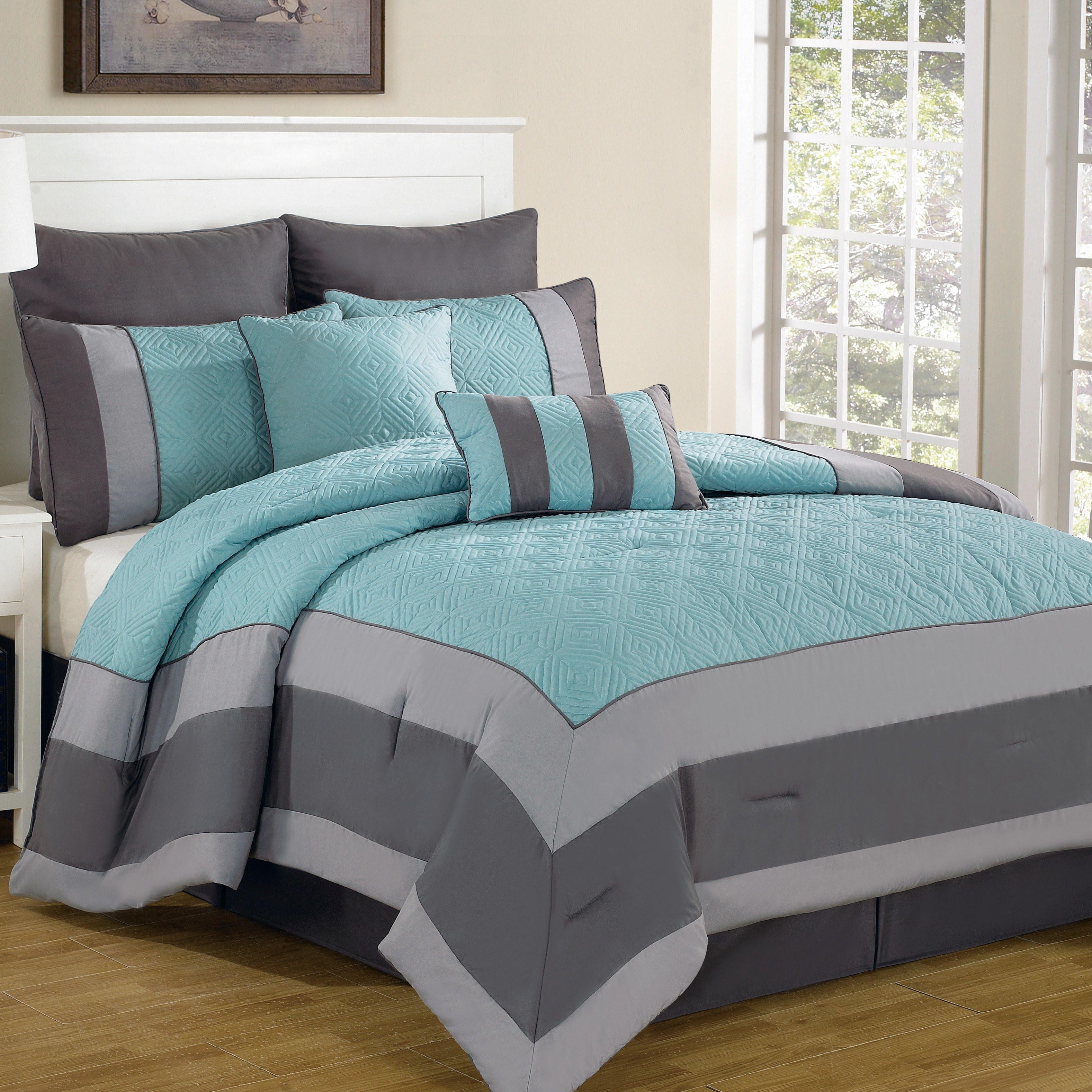 Best Dr International Spain 8 Piece Comforter Set Reviews With Pictures