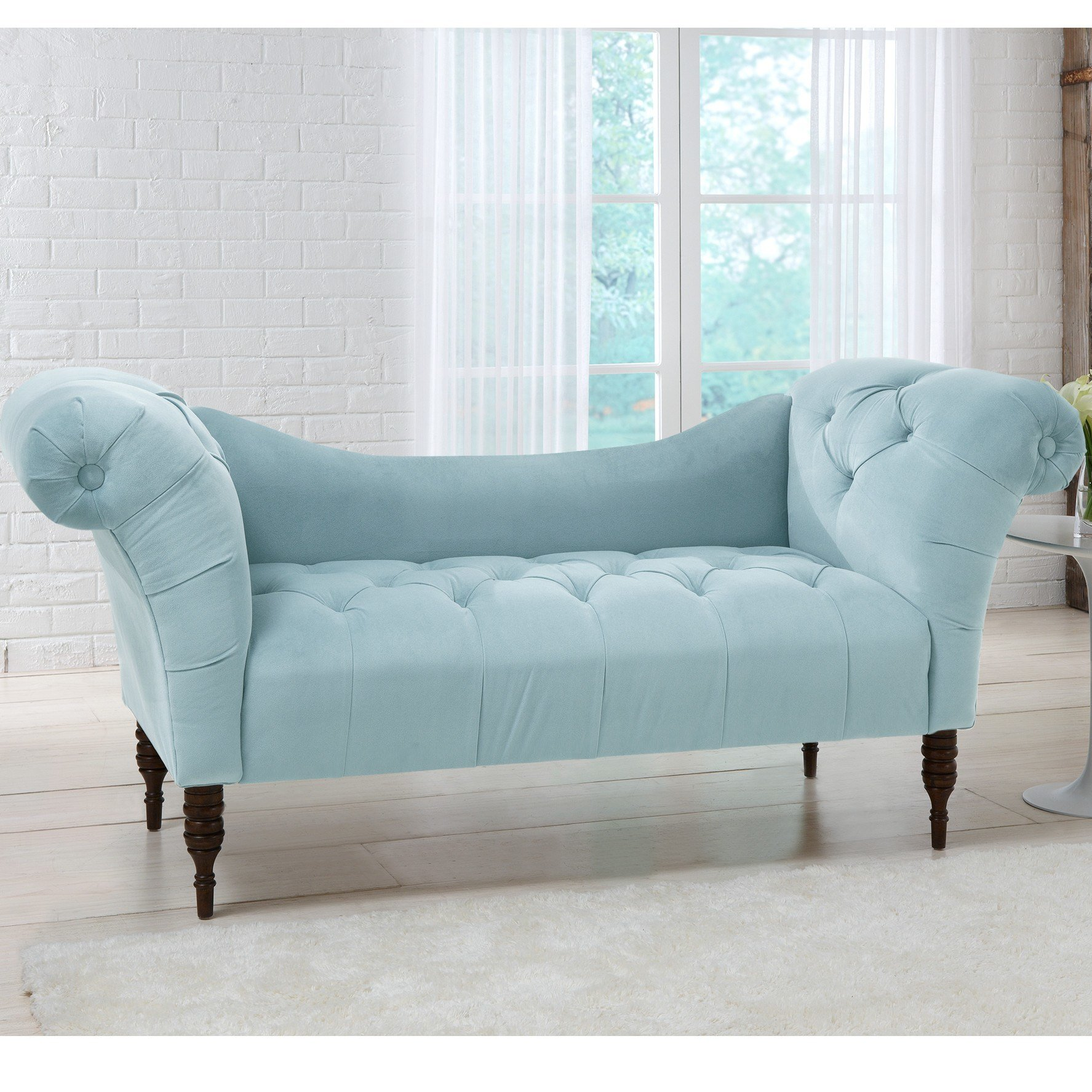 Best House Of Hampton Hedon Velvet Lounge Settee Reviews With Pictures