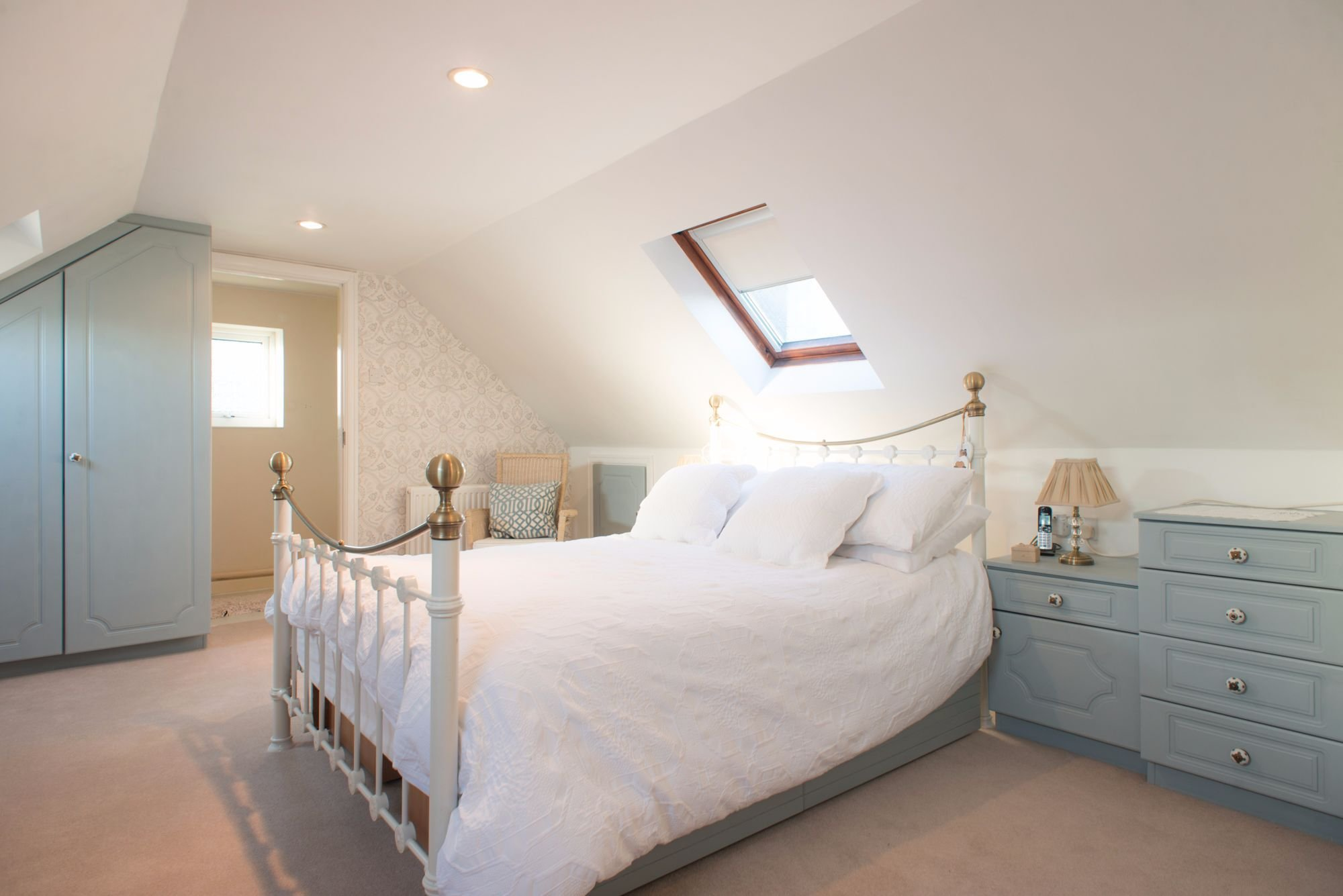 Best 003 Bedroom Painted In Wedgewood Blue With Pictures