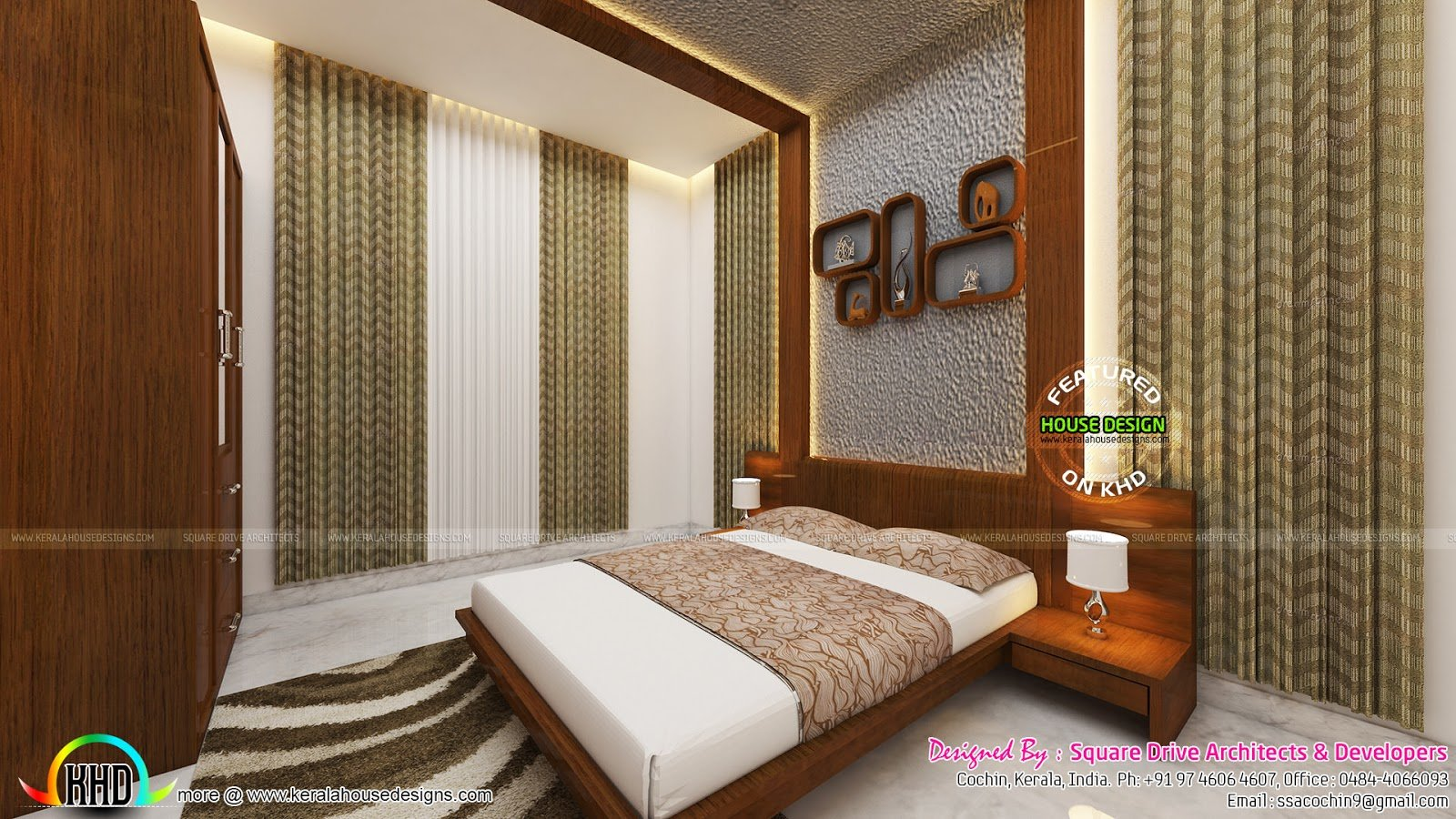 Best Bedrooms Interior Design Kerala Kerala Home Design And With Pictures