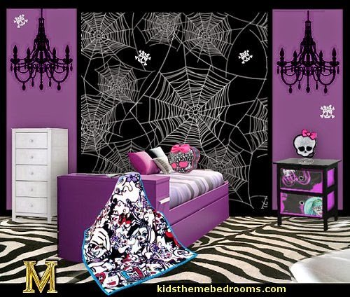 Best Decorating Theme Bedrooms Maries Manor Monster High With Pictures