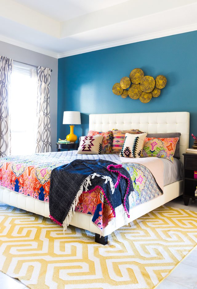 Best 5 Steps To A Colorful Boho Bedroom Design Improvised With Pictures