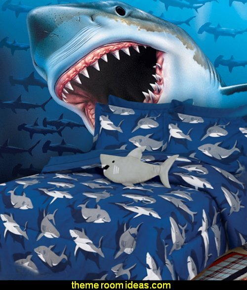 Best Decorating Theme Bedrooms Maries Manor Sharks With Pictures