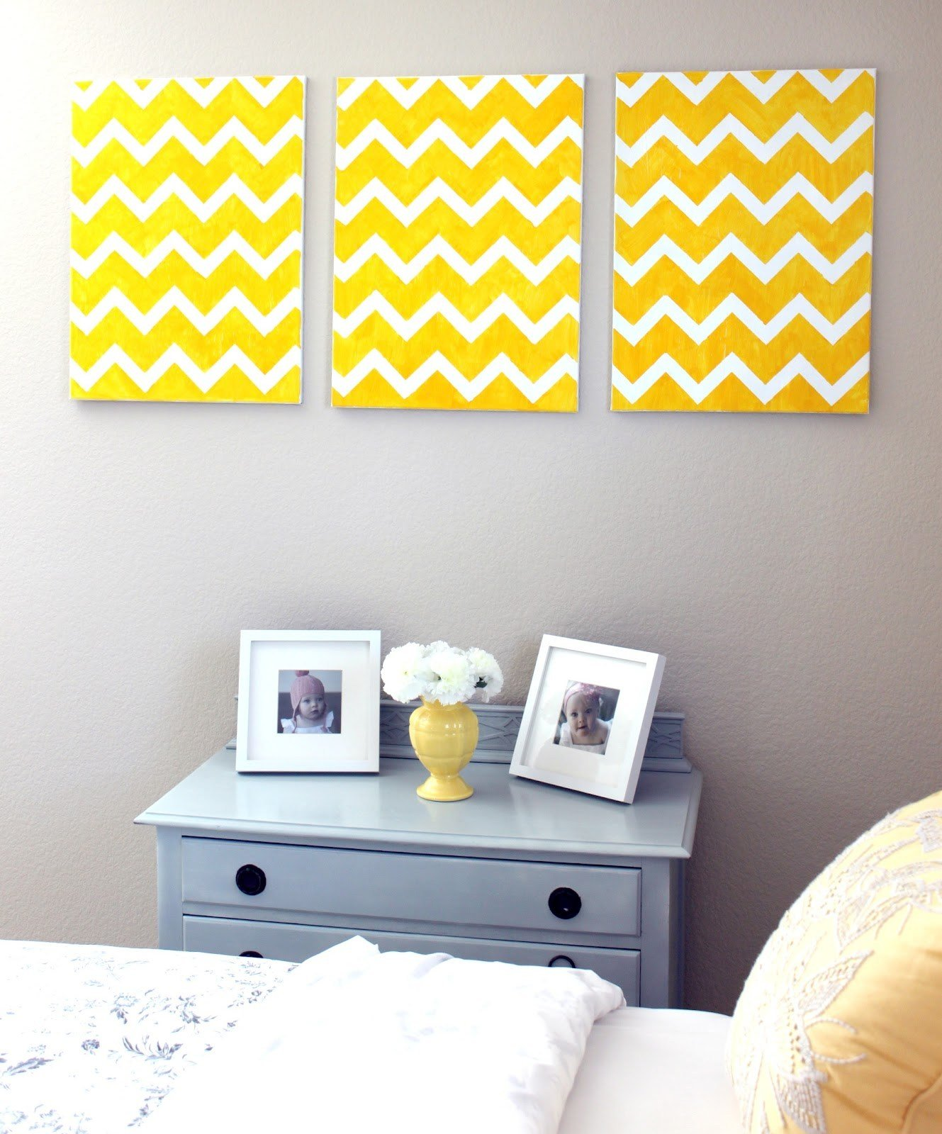 Best Diy Chevron Wall Art Craftistas With Pictures
