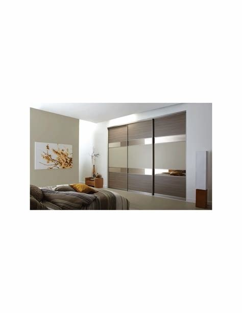 Best Volante Sliding Bedroom Doors Walnut Bronzed Mirror With Pictures