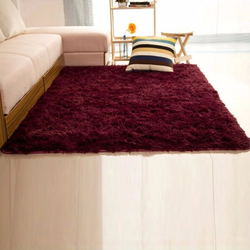 Best Fluffy Rugs Anti Skid Shaggy Area Rug Home Living Room With Pictures