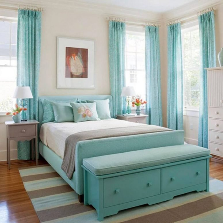 Best 51 Stunning Turquoise Room Ideas To Freshen Up Your Home With Pictures