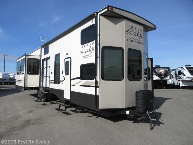 Best 2019 Forest River Rv Wildwood Grand Lodge 42Dl Gelcoat With Pictures