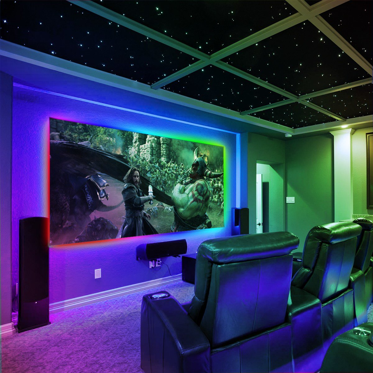 Best My Room With Lasers Lights And Strobes Trends Strobe For With Pictures