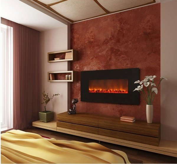 Best Electric Fireplace Designs For A Cozy Modern Interior With Pictures